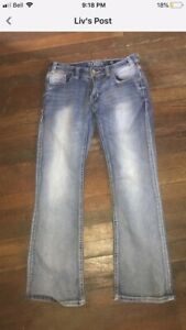 70879994d98 A pair of wrangler and Rock and roll cowgirl jeans