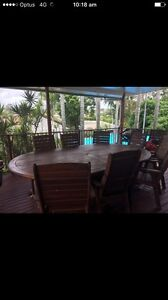 10 piece outdoor setting Inala Brisbane South West Preview