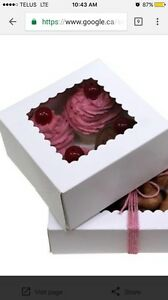 Brand New Bakery Boxes / Cupcake Boxes & Cupcake Inserts!