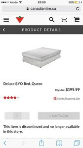 Deluxe BYOB queen size air bed/ Matelas d'air grandeur queen