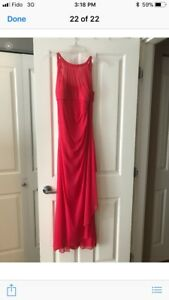 David's bridal long dress. Never been worn. New. Size 8