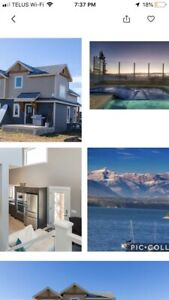 Vacation rental at Ghost Lake 45 minutes from Banff