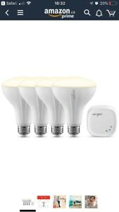 4 Sengled BR30 Recessed light bulbs and hub. Home Automation.