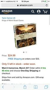 Board Games   Gumtree Australia Free Local Classifieds Kings of Mithril board game