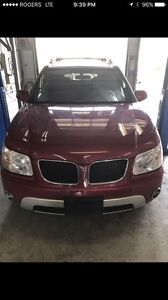 2006 Pontiac Torrent. ALL Wheel Drive. Air Conditioning. Sunroof