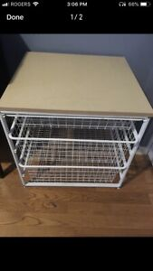 Wire drawers