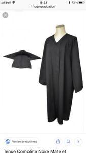 Toge graduation et mortier