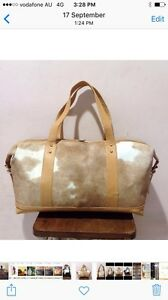 Cowhide travel bags Bonogin Gold Coast South Preview