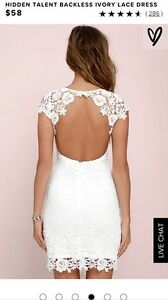 Beautiful Ivory Lace Dress