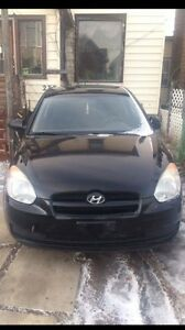 2008 Hyundai Accent with manual transmission