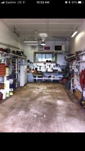 Garage bay for rent. pwr and air compressor. Herring cove
