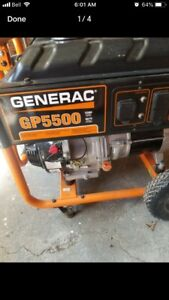 generator used 2 times starts first pull heavy duty portable
