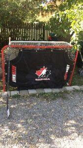 NHL Size Net With Sniping Tarp
