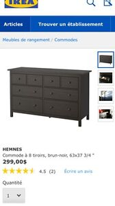 Ikea HEMNES (dresser/commode)