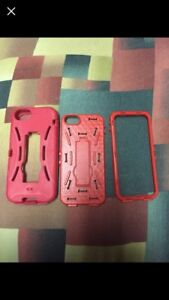 iPhone 5 Phone Case(s) Red and Black