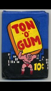 Wanted Ton O Gum Wrapper