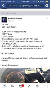 Mitsubishi Pajero swb gen 1 Highfields Toowoomba Surrounds Preview