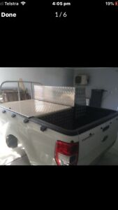 Ford Ranger Single Cab Weld Body 2015 with Storage