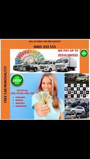 UNWANTED CARS AND SCRAP CARS REMOVALS CALL  Canterbury Canterbury Area Preview