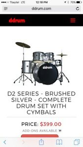 D2 series complete drum set