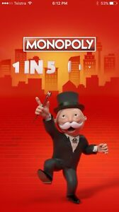Maccas monopoly tokens Greenfields Mandurah Area Preview
