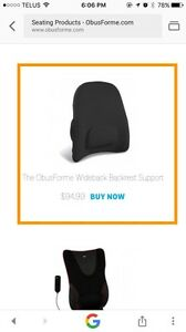Obus forme car seat back support.