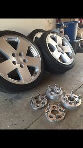 Jeep wheels and adapters mk4 Volkswagen