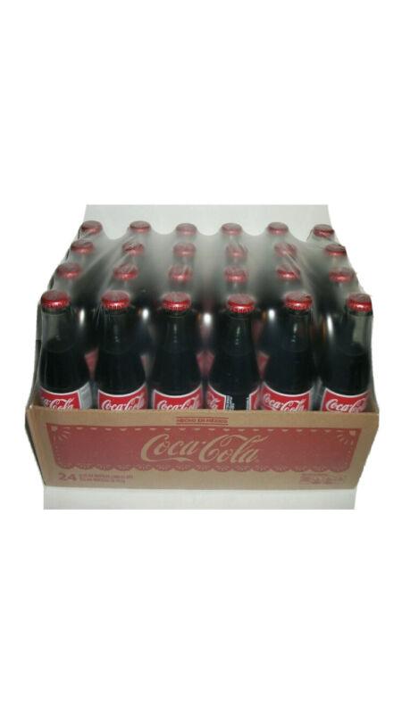 24 Pack Mexican Coca-Cola Glass Bottles 12oz Coke Hecho En Mexico