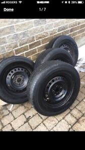 235/65r16 falken with rims and tpms