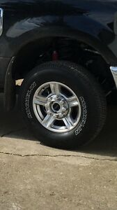 "2017 Ford Superduty stock 17"" rims/tires"