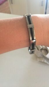 M + y sliver bracelet. Adelaide CBD Adelaide City Preview