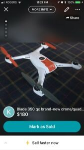 Blade 350 qx brand-new drone/quad copter
