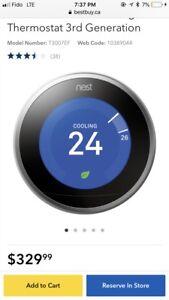 Nest smart thermostat - t3007EF