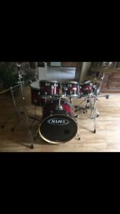 Mapex Maple Pro 6 piece drum set FOR SALE