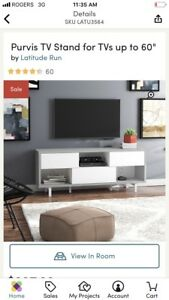 Brand new in box Wayfair tv media stand