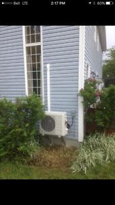 Ductless Heat Pumps Installs