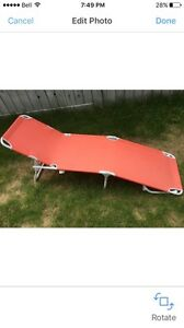 Coral IKEA lounger