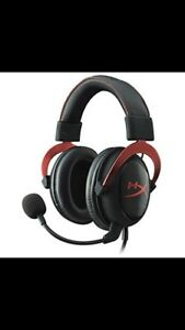 Gaming headset hyper x cloud2 NEUF/NEW Casque gamer ps4-one-pc