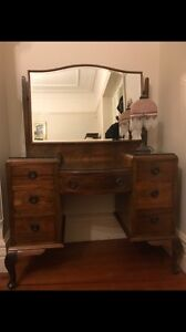 Antique Dressing table With Mirror Stanmore Marrickville Area Preview