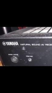 Yamaha the natural sound AV receiver