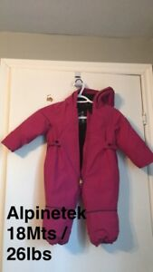 Toddler Snowsuits (Girls)