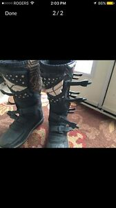 Practically new size 11 fly boots