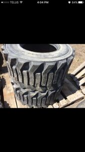 2-33x15.5x16.5 NHS Titan HD 2000 Bobcat/equipment tires