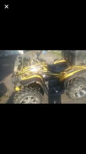 2007 800 can am renegade  swap/trade