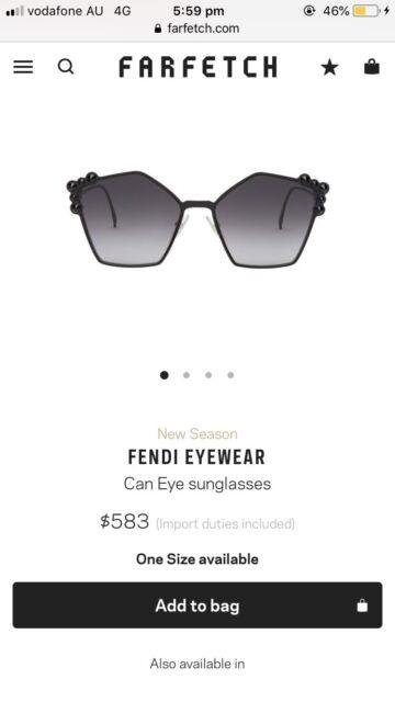 f45a097f8003 Fendi sunglasses new