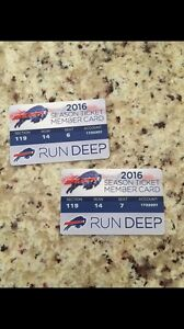 Buffalo Bills tickets (pair)
