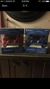 Brand new PS4 controllers