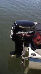 4.3m Savage Ranger Tinny and 40hp Mercury Outboard