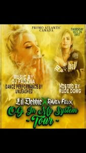 Lil Debbie live Oct 26th!! Save $$