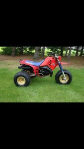 Wanted liquid cooled Honda ATC250r